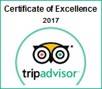 Certificate of Excellence 2017 Award