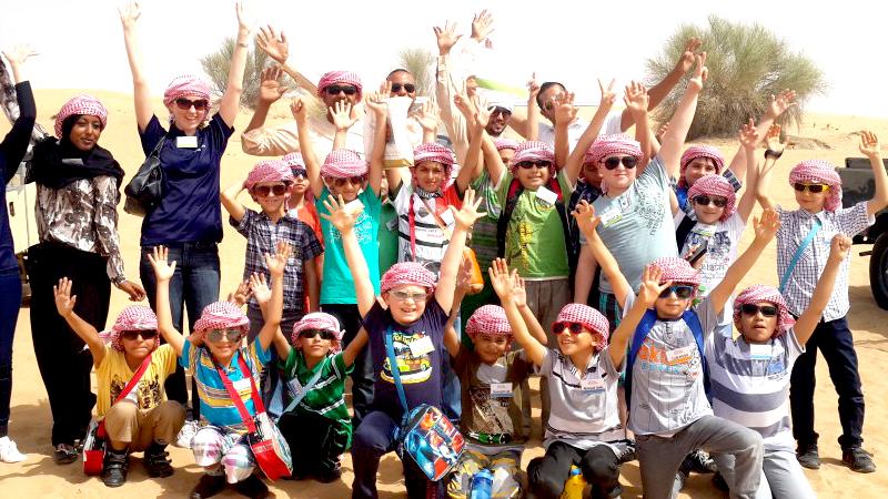 Tourism Desert Safari School Tour
